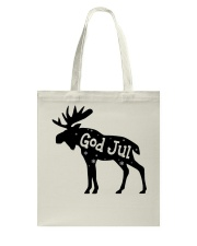 GOD JUL NORWEGIAN MOOSE Tote Bag thumbnail