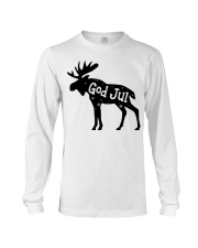 GOD JUL NORWEGIAN MOOSE Long Sleeve Tee thumbnail