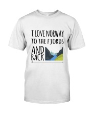NORWAY FJORDS Classic T-Shirt thumbnail