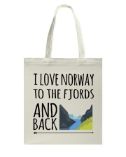 NORWAY FJORDS Tote Bag thumbnail