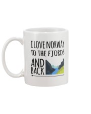 NORWAY FJORDS Mug back