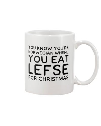 YOU EAT LEFSE FOR CHRISTMAS