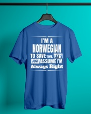 NORWEGIAN ALWAYS RIGHT Classic T-Shirt lifestyle-mens-crewneck-front-3