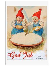 GOD JUL  VINTAGE 11x17 Poster front