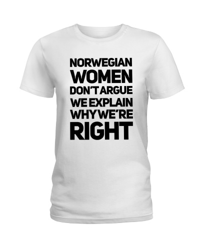 NORWEGIAN WOMEN ARGUE