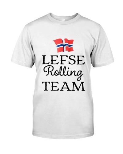 LEFSE ROLLING TEAM NORWEGIAN