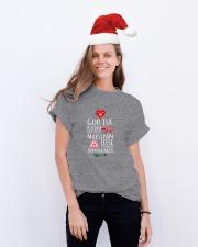GOD JUL Classic T-Shirt lifestyle-holiday-crewneck-front-1