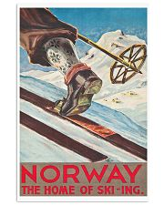 NORWAY VINTAGE TRAVEL 11x17 Poster front