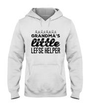 GRANDMA'S LITTLE LEFSE HELPER Hooded Sweatshirt thumbnail
