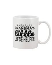 GRANDMA'S LITTLE LEFSE HELPER Mug thumbnail