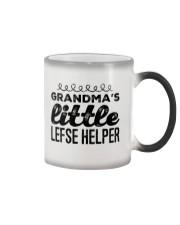 GRANDMA'S LITTLE LEFSE HELPER Color Changing Mug thumbnail