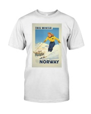 THIS WINTER NORWAY VINTAGE  Classic T-Shirt thumbnail