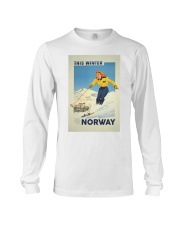 THIS WINTER NORWAY VINTAGE  Long Sleeve Tee thumbnail