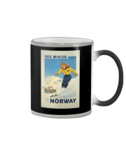 THIS WINTER NORWAY VINTAGE  Color Changing Mug thumbnail