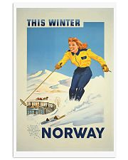 THIS WINTER NORWAY VINTAGE  11x17 Poster front