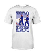 NORWAY IN MY HEART VINTAGE  Classic T-Shirt thumbnail
