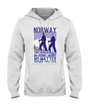 NORWAY IN MY HEART VINTAGE  Hooded Sweatshirt thumbnail