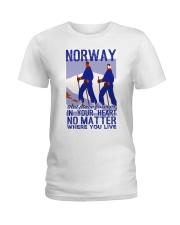 NORWAY IN MY HEART VINTAGE  Ladies T-Shirt thumbnail