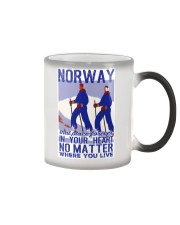 NORWAY IN MY HEART VINTAGE  Color Changing Mug thumbnail