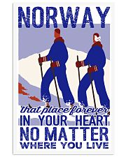 NORWAY IN MY HEART VINTAGE  11x17 Poster front