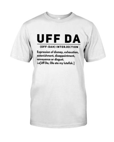 UFF DA INTERJECTION