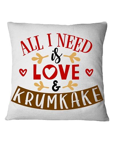 ALL I NEED IS LOVE AND KRUMKAKE