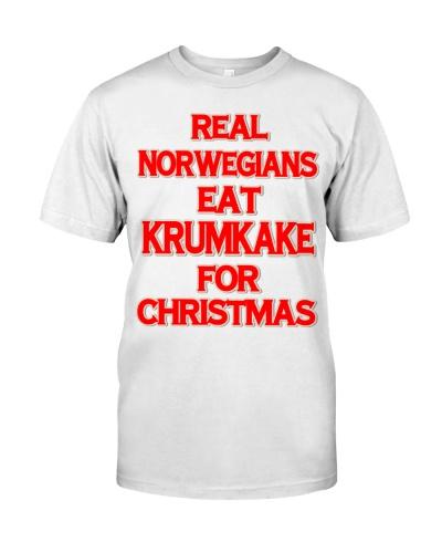 REAL NORWEGIANS EAT KRUMKAKE FOR CHRISTMAS