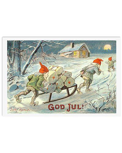 NORWAY GOD JUL NISSER VINTAGE