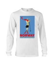 NORWAY VINTAGE TRAVEL Long Sleeve Tee tile