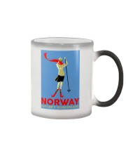 NORWAY VINTAGE TRAVEL Color Changing Mug thumbnail