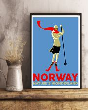 NORWAY VINTAGE TRAVEL 11x17 Poster lifestyle-poster-3