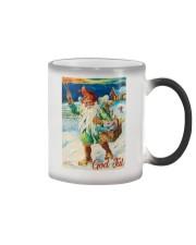 NORWAY GOD JUL NISSE 1947 VINTAGE Color Changing Mug thumbnail