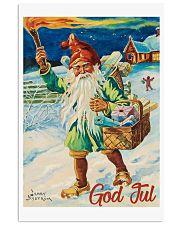 NORWAY GOD JUL NISSE 1947 VINTAGE 11x17 Poster front