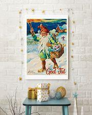 NORWAY GOD JUL NISSE 1947 VINTAGE 11x17 Poster lifestyle-holiday-poster-3