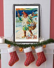 NORWAY GOD JUL NISSE 1947 VINTAGE 11x17 Poster lifestyle-holiday-poster-4