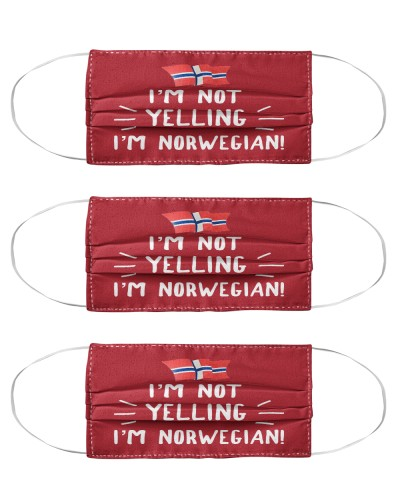 I'M NOT YELLING I'M NORWEGIAN