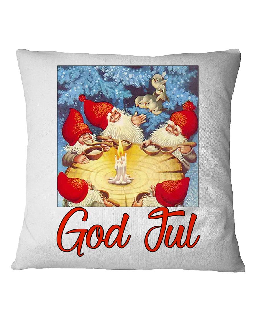 GOD JUL NISSE Square Pillowcase