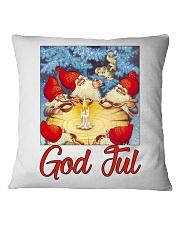 GOD JUL NISSE Square Pillowcase front