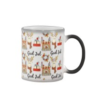 NORWEGIAN GOD JUL MERRY CHRISTMAS CUTE Color Changing Mug thumbnail