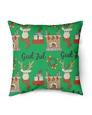 """NORWEGIAN GOD JUL MERRY CHRISTMAS CUTE Indoor Pillow - 16"""" x 16"""" front"""