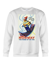 NORWAY THE HOME OF SKI-ING VINTAGE  Crewneck Sweatshirt thumbnail