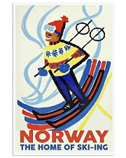 NORWAY THE HOME OF SKI-ING VINTAGE  11x17 Poster front