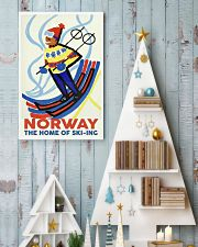 NORWAY THE HOME OF SKI-ING VINTAGE  11x17 Poster lifestyle-holiday-poster-2