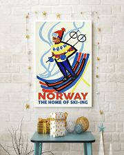 NORWAY THE HOME OF SKI-ING VINTAGE  11x17 Poster lifestyle-holiday-poster-3