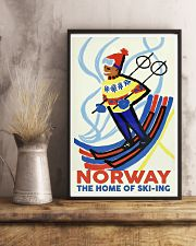 NORWAY THE HOME OF SKI-ING VINTAGE  11x17 Poster lifestyle-poster-3