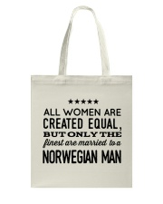 MARRIED TO A NORWEGIAN MAN Tote Bag thumbnail