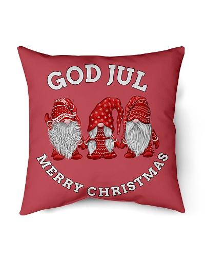 GOD JUL NORWEGIAN CHRISTMAS CUTE NISSER