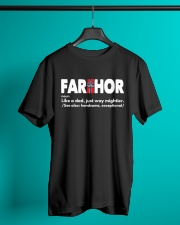 FARTHOR NORWEGIAN VIKING DAD Classic T-Shirt lifestyle-mens-crewneck-front-3