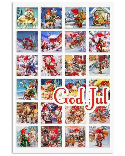 GOD JUL NORWEGIAN CHRISTMAS