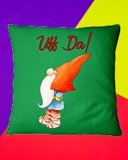 ADORABLE UFF DA NISSE Square Pillowcase aos-pillow-square-front-lifestyle-6